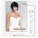 KIN Cosmetics hajfestőlap tömb A4 méretben