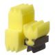 Fodrászkellék Dauer fixáló szivacs készlet.( fogó+3szivacs)
