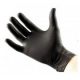 Gumikesztyű latex fekete 50db GUA761 L-es