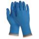 Gumikesztyű nitril kék GUA2621-M-es