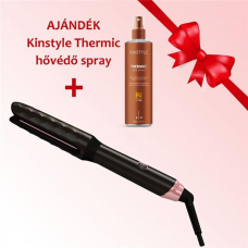 Bronzed Digitális extra széles hajvasaló és hajgöndörítő