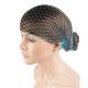 Hajháló horgolt erős anyagból világos kék